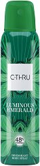 C-Thru Luminous Emerald Deodorant Body Spray - Спрей дезодорант -