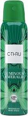C-Thru Luminous Emerald Deodorant Body Spray - продукт