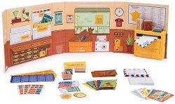 Мини пощенски офис - Детски комплект за игра с аксесоари -