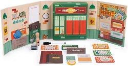 Мини ресторант - Детски комплект с аксесоари за игра -