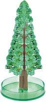 Магическа елха от кристали - Детски образователен комплект с аксесоари -
