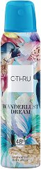 C-Thru Wanderlust Dream Deodorant Body Spray - Спрей дезодорант -