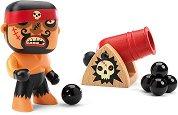 """Пират - Рик с оръдие - Фигурка за игра с аксесоари от серията """"Arty Toys"""" -"""