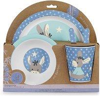 Детски комплект за хранене - Emmi - За бебета над 6 месеца - продукт