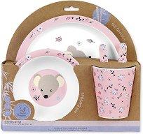 Детски комплект за хранене - Mabel - За бебета над 6 месеца -