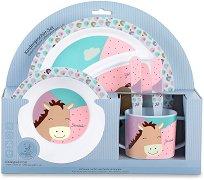 Детски комплект за хранене - Pauline - За бебета над 6 месеца -