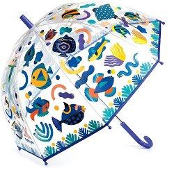 Чадър с променящи се цветове - Fishes - играчка