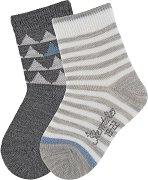 Детски чорапи - Комплект от 2 чифта -