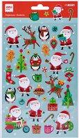 Обемни стикери - Дядо Коледа