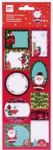 Коледни етикети - Дядо Коледа