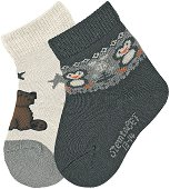 Бебешки чорапи - Комплект от 2 чифта -