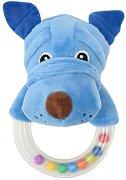 Плюшена дрънкалка - Кученце - играчка