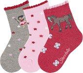 Детски чорапи - Комплект от 3 чифта -