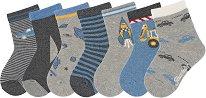 Детски чорапи - Комплект от 7 чифта -