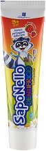 SapoNello Toothpaste Red Fruits 3+ - паста за зъби