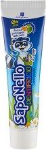 SapoNello Toothpaste Orange and Sweet Mint 6 + - паста за зъби