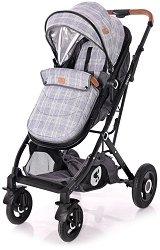 Комбинирана бебешка количка - Sena - С 4 колела -