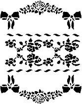 Шаблон - Флорални фризове