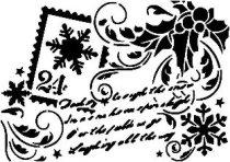 Шаблон - Коледна картичка