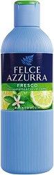 Felce Azzurra Fresh Bath & Shower Gel - Душ гел и пяна за вана с аромат на бергамот и цветя - гел