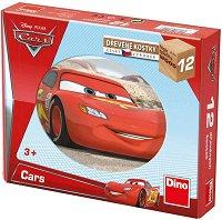 """Дървени кубчета - Детски комплект за игра от серията """"Колите"""" -"""