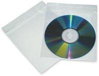 Прозрачни пликчета за CD/DVD