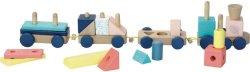 """Дъврено влакче - Детска образователна играчка от серията """"Sous la Canopée"""" -"""