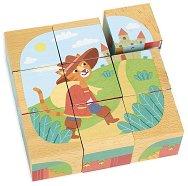 Дъврени кубчета - Класически приказки - Образователен комплект за игра -