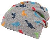 Бебешка двулицева шапка -