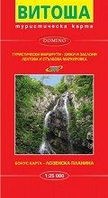 Туристическа карта на Витоша -