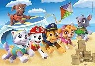 """Кученца на плажа - Детски пъзел от серията """"Paw Patrol"""" - топка"""