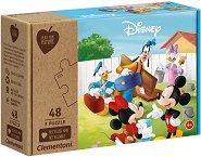 """Мики Маус и приятели - Комплект от 3 пъзела от серията """"Play for Future"""" - раница"""