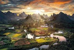 Пейзаж в Китай -
