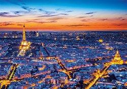 Светлините на Париж - пъзел