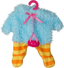 Дрешка за кукла Cry Babies - Паун - Детски аксесоар - играчка