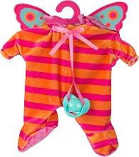 Дрешка за кукла Cry Babies - Пеперуда - Детски аксесоар - играчка