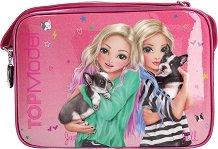 Ученическа чанта - Топ Модел: Friends with Dogs -