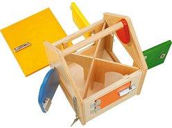"""Къща с ключалки - Дървена образователна играчкаот серията """"Haba: Education"""" -"""