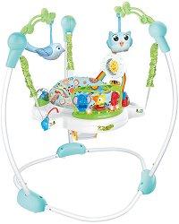 Бебешко бънджи - Forest Fun - С музикални и светлинни ефекти -