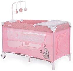 Сгъваемо бебешко легло на две нива - Day & Night -