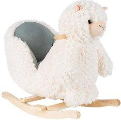 Детска дървена люлка - Лама -