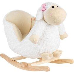 Детска дървена люлка - Овчица -