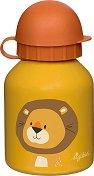 Детска бутилка - Лъв 250 ml - детска бутилка