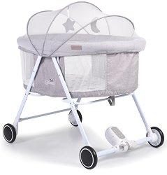 Сгъваемо бебешко легло-люлка - Blessed - С дистанционно управление -