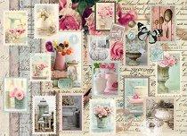 Декупажна хартия - Пощенски марки