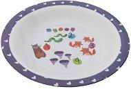 Детска меламинова чиния за хранене - Numbers - За бебета над 12 месеца -