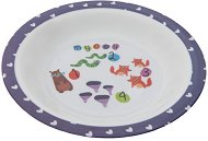 Детска меламинова чиния за хранене - Numbers -