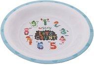 Детска меламинова чиния за хранене - Count It - За бебета над 12 месеца -