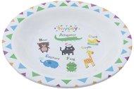 Детска меламинова чиния за хранене - Alphabet - За бебета над 12 месеца -
