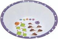 Детска меламинова купичка за хранене - Numbers - За бебета над 6 месеца -